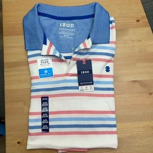 IZOD polo T-shirt, stretch with cooling technology